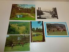 Vintage North Carolina Unused Scorecards & Postcards Maggie Valley Wolf Laurel