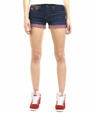 Superdry Cotton Hot Pants Mid Rise Shorts for Women
