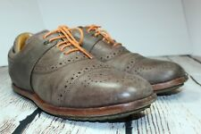 Mens TSUBO WEXLER II Cap Toe Oxford Shoes Size 9 US EU 42 Brown Leather C5