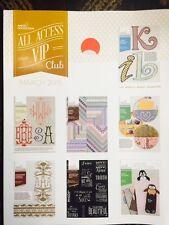 Anita Goodesign Embroidery Designs CD & BOOK ALL ACCESS VIP Club MARCH 2015 NEW