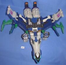 TRANSFORMERS 2004 Energon Leader Class Megatron Huge Jet Incomplete  Figure #3