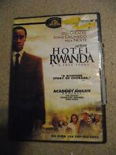 Hotel Rwanda (2006 Dvd) Don Cheadle, Nick Nolte, Sophie Okonedo, Joaquin Phoenix