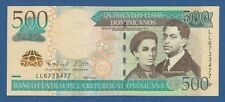 DOMINICAN REPUBLIC -- 500 PESOS DOMINICANOS ( 2012 ) -- UNC -- LL -- PICK 186b .