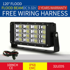 NEW Cree 10inch 320W LED Work Light Rectangle Square Truck Jeep SUV Offroad 4X4