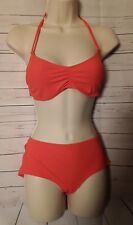 GapBody Womans Bikini Set Orange Size M