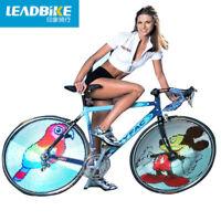 64 LED RGB Bicycle Wheel Light Spoke Auto Speed Change Programmable DIY Lamp