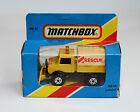Matchbox MB 48, UNIMOG RESCUE, 1981, Great Condition, Vintage, 1876