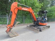 New listing 2015 Hitachi Zx50U-5N Mini Hydraulic Excavator Hyd Thumb Blade 2-Spd Q/C bidadoo