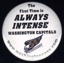 WASHINGTON CAPITALS NHL HOCKEY OFFICIAL PIN BUTTON #2