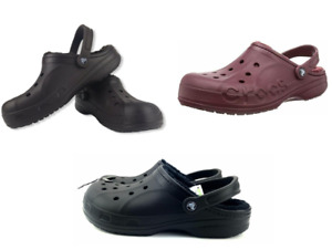 Crocs Men's and Women's casual stylish comfy & cozy Ralen/Baya Lined clogs  NEW