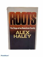 Roots Saga Of An American Family by Alex Haley 1976 Book Club Edition Y4