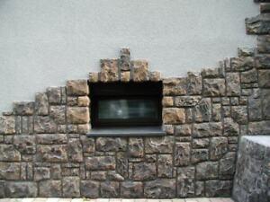 Musterstein Wandverblender, Mauerverblender, Stein, Steinverblender Lancaster