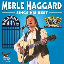 Merle Haggard - Sings His Best: Branded Man [New CD]