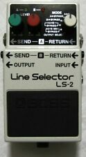 Used Boss LS-2 Line Selector Pedal!