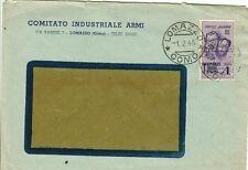 414-LOMBARDIA, LOMAZZO, REPUBBLICA SOCIALE ITALIANA 1 L. F.LLI BANDIERA, 1945