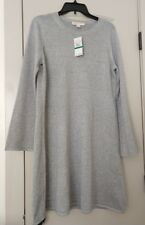 NEW Michael Kors Pearl Heather Bell Sleeve Dress, Size L.