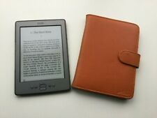 Amazon Kindle D01100 eBook Reader Graphite with case and USB cable bundle