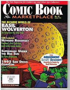 Comic Book Marketplace, 5 issues, 1992 to 2001
