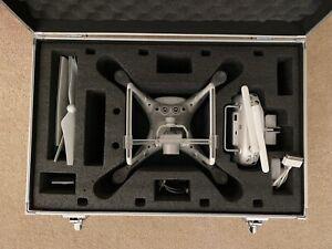 DJI Phantom 4 4K Camera Drone w/ ND Filters + Custom Carrying Case