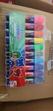 Pack of 10 PJ Masks Felt Tips Markers Colouring Pens School Kids Stationery