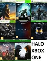 Xbox one Halo Xbox one Xbox 360 Backward Compatible Assorted MINT - FAST DELIVER
