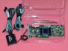 Adaptec Raid Controller ASR-6805T 8 Ports PCIE2 x8 512MB+BBU Battery+2 X 8087