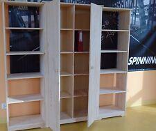 Arbeitszimmer Komplett Set Büromöbel Schrank Aktenschrank Regal MASSIVHOLZ