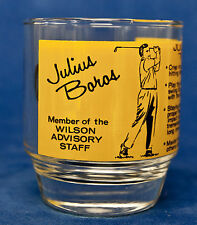 JULIUS BOROS WILSON ADVISORY BOARD OLD FASHIONED GLASS - VINTAGE