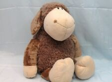Nici- 'Sheepskin Brown' - Supersoft Coral Soft Toy in Cotton - cm.70 - Seated cm