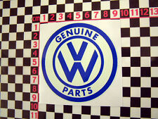 Sticker for VW Beetle Camper Van Karmann Ghia Type 2 3 Bay Splitty Cal Look