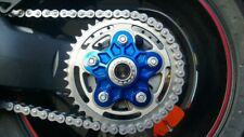 Ducati Monster S2R/S4R/S4RS -KBIKE- Flangia portacorona BLU