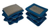 Air Filter Pack Of 10 Fits BRIGGS & STRATTON QUANTUM 491588