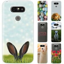 Dessana Happy Easter TPU Silicone Protective Cover Phone Case Cover For LG