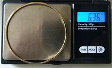 Alter Armreif Armband Gold gestempelt 333   6,37Gramm