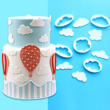 5 PC Clouds and Cloud Shape Cookie Cutter Set - #1 Best Seller from Bakell