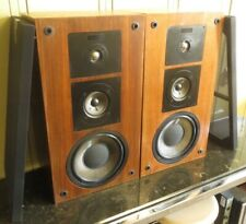 Vintage Pair Altec Lansing 205A speakers beautiful wood all original Excellent