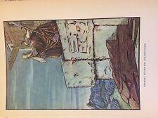 M3b ephemera 1920s book plate james d dowell heimdal blows his golden horn