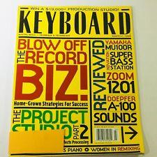 Keyboard Magazine March 1998 - Yamaha MU100R & Novation Super Bass Station