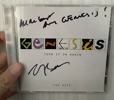 More details for tony banks signed genesis turn it on again cd autograph phil collins rare
