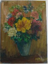 Peintures du XXe siècle et contemporaines signés en fleur, arbre, pour expressionnisme