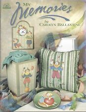 My Memories Decorative Tole Painting Pattern Book by Carolyn Ballantine