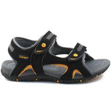 Sandales noires pour garçon de 2 à 16 ans
