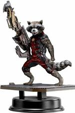 DRAGON GUARDIANS OF THE GALAXY ROCKET  RACCOON RED SUIT VERS.  VIGNETTE STATUE