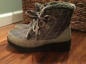 Patrizia by Spring Step mid boot grey warm fall winter shoe 7