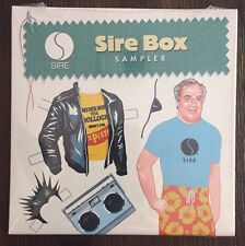 SIRE BOX SAMPLER - 19 Track CD - Madonna Ramones The Cure - PROMO 2005 - NEW