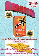 100 x YELLOW INTENSE X 20mg 48HR ERECTION SEX AID  PILLS EXPIRY DATE SEP 2019
