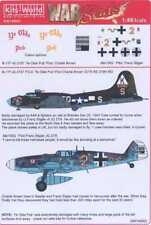 Kits World Decals 1/48 B-17F YE OLDE PUB 379th BG & Me-109G JG 27/6