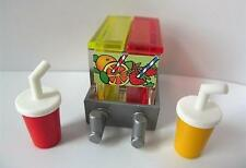 Playmobil Dollshouse/Ciudad/Café/tienda extras: jugo & Tazas Nuevo