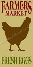 """* Primitive Stencil Item # 8250 J ~11""""x20~ Farmers Market"""