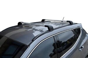 Aerodynamic Roof Rack Cross Bar for Hyundai Santa Fe DM 2013-18 Alloy Lockable